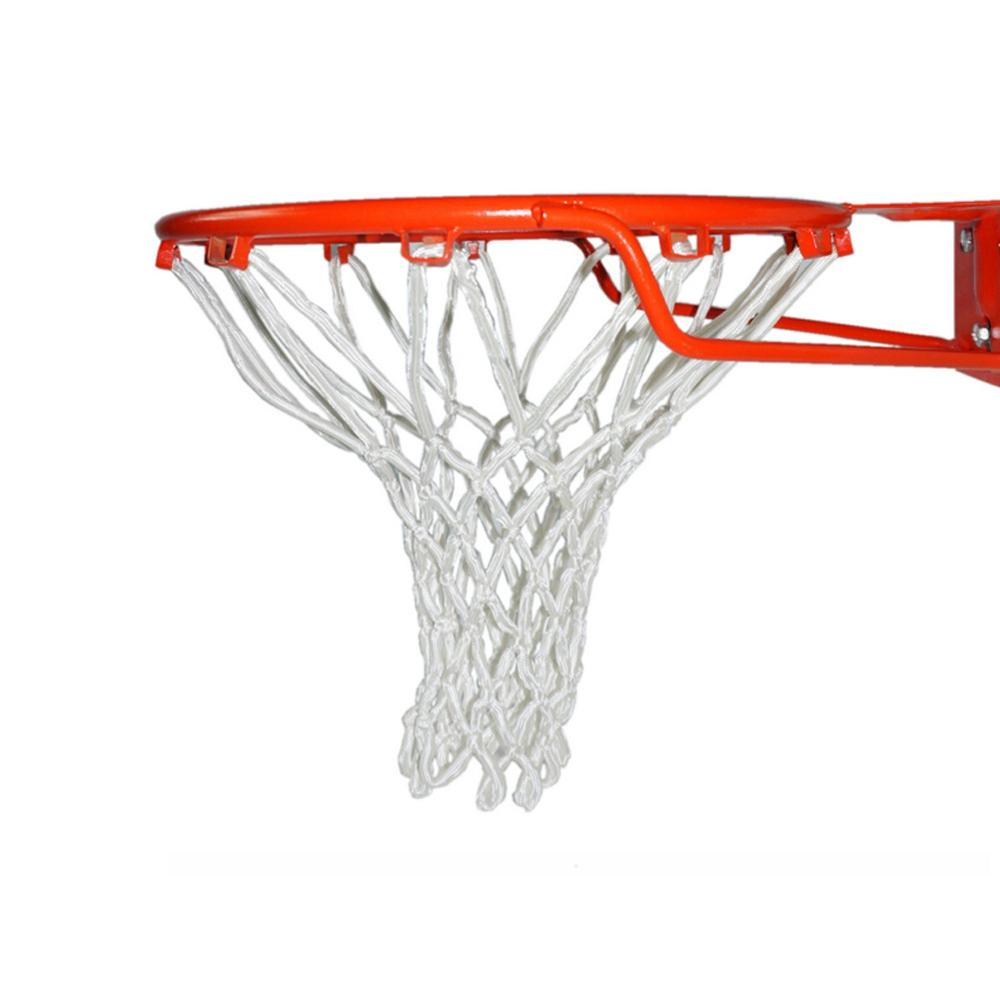 New Arrival Indoor And Outdoor Basketball Box Sports Luxury White Basketball Net Durable And Durable For Standard Basket