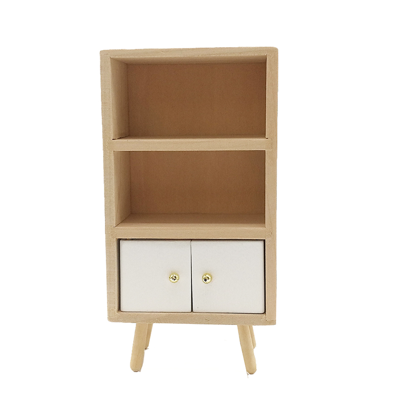 <font><b>1</b></font>:<font><b>12</b></font> Dollhouse Miniature Kitchen Dining Room Furniture Modern Sideboard Wood Cabinet WL019 image