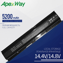 Apexway 5200 mAh 8 Cells Laptop Battery for HP ProBook 4730S 4740S HSTNN-I98C-7 HSTNN-IB2S HSTNN-LB2S 633734-141 PR08 QK647AA lmdtk new 8cells laptop battery for hp probook 4730s 4740s hstnn i98c 7 hstnn ib25 hstnn ib2s pr08 qk647aa free shipping