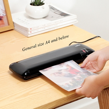 A4 laminator LM22 glue machine document photo specimen laminating machine office home one button operation