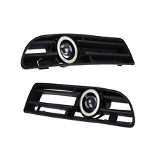 Replacement Grille Fog-Light Jetta Bora Mk4 Front-Bumper LED for VW 99-04 Drl-Lamp-Part
