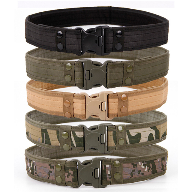 Camouflage Tactical Belts