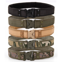 2020 New Army Style Combat Belts Quick Release Tactical Belt