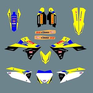 Image 1 - Naklejka motocyklowa 3M naklejki dla Suzuki RMZ450 RMZ 450 2018 2019 2020 2021