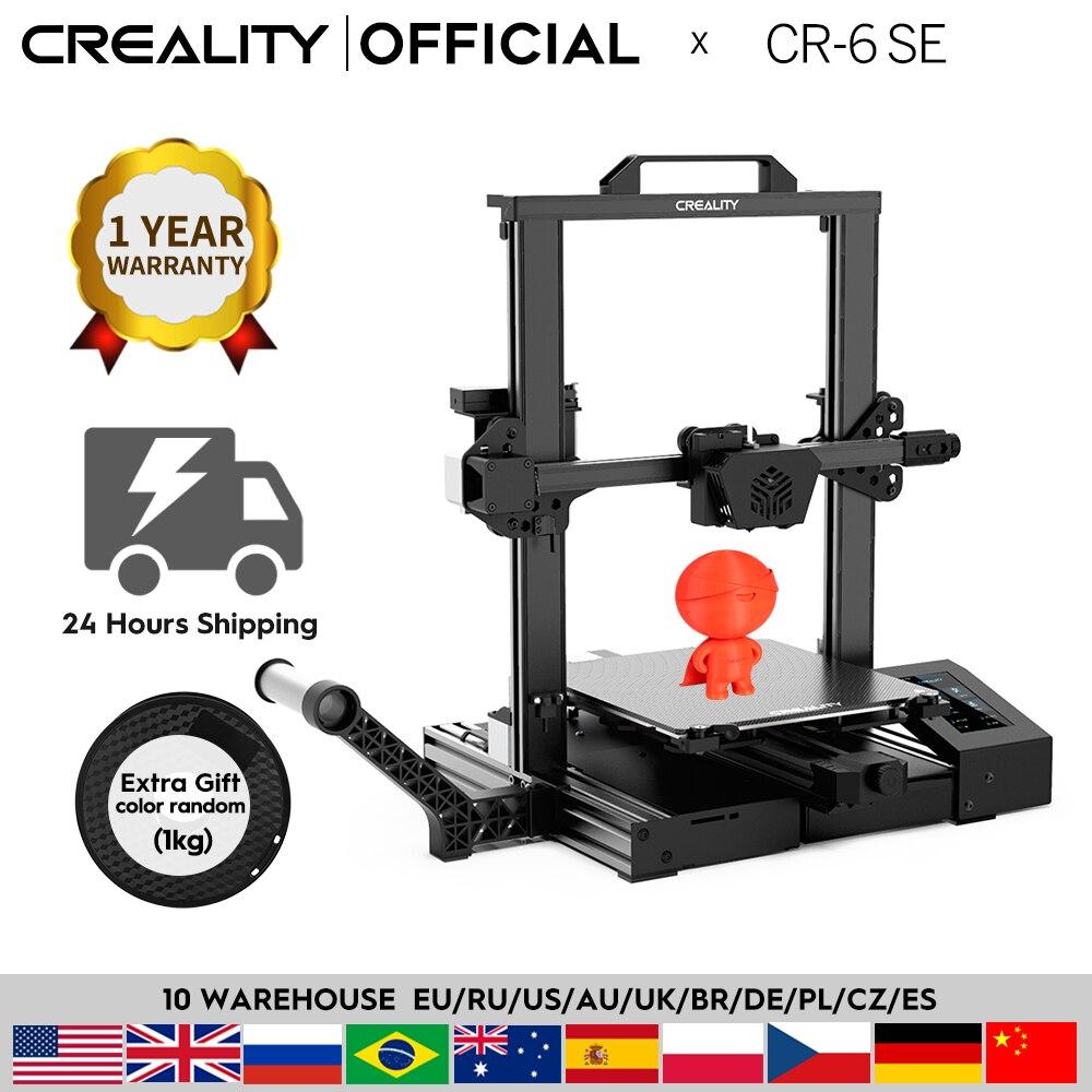 CREALITY 3D-принтеры новый супер CR-6 SE бесшумный материнская плата возобновить печать нити бесплатный подарок