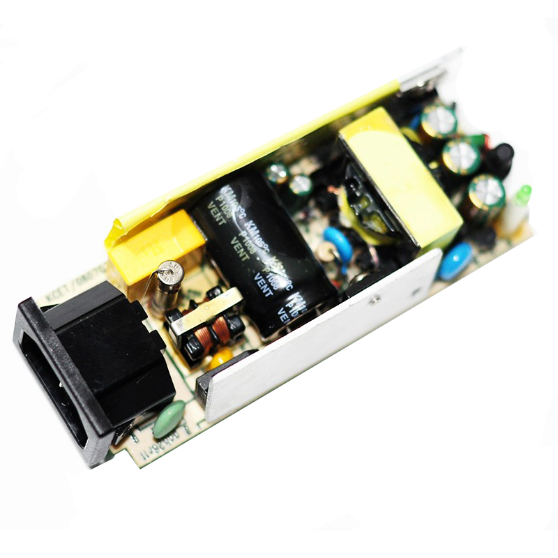 AC-DC 12V 5A Switching Power Supply Module LCD 100-240V Power Board with Switch Overvoltage Overcurrent Short Circuit Protection