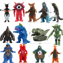 Ultraman Fight Kaiju Monsters Soft Gomorra Redking King Dragon Models Altman Action Figure Children Toys Christams Gift