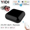 WiFi + RF + IR Alle-In-One Smart Universal Fernbedienung, RF Geräte Tuya Smart Leben App Voice Control Alexa Google Hause