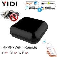 WiFi+RF+IR All-In-One Smart Universal Remote Controller, RF Appliances Tuya Smart Life App Voice Control Alexa Google Home