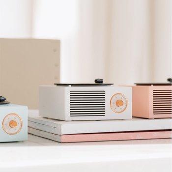 Mini Steel Retro Atomic Speaker Radio Cassette Recorder 5
