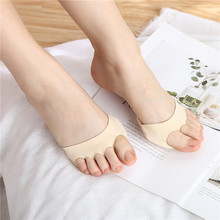 Shock-Socks Forefoot-Pads High-Heels 1-Pair Five-Toes Inserts Absorbs Half-Insoles Pain-Care