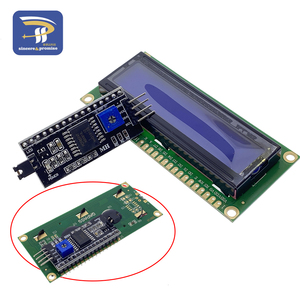 Image 5 - 1602 16 × 2 HD44780 arduinoのキャラクター 5v液晶ブルースクリーン 1602A iic/I2CシリアルPCF8574 インタフェースアダプタプレートモジュールdiyキット