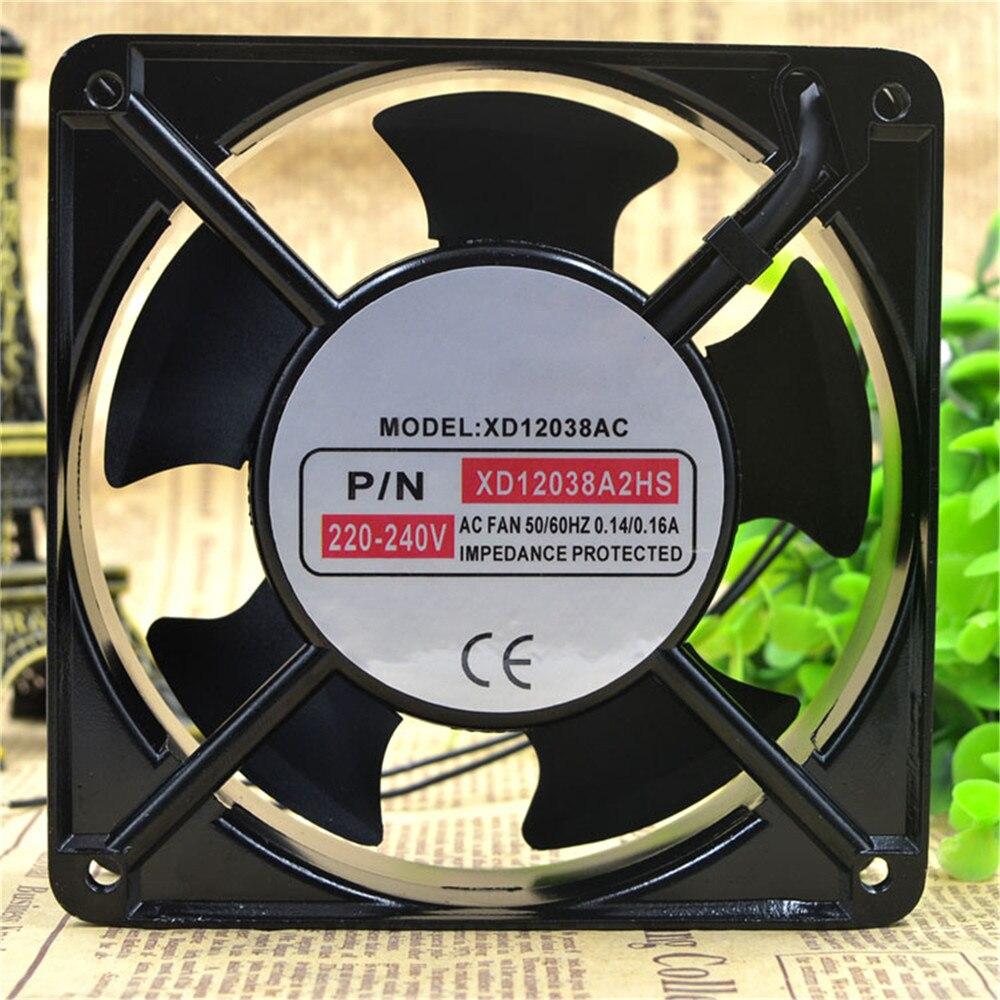 1pcs Cooling Fan For XINDAFAN XD12038A2HS 220V-240V 12CM 12038 Cabinet Cooling Fan Cooler
