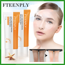 2PCS FTEENPLY SPF90 Sunscreen Cream Face Body Sun Cream Skin Care Whitening Moisturizing Prevent Sunburn Oil-control Anti-Aging