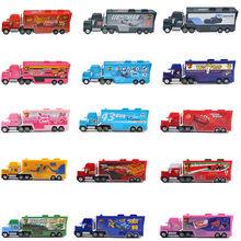 Disney Pixar – voitures Cars 3 Lightning McQueen Mack, camion oncle, échelle 1:55, modèle moulé, jouets pour enfants, cadeau de nouvel an, d'anniversaire