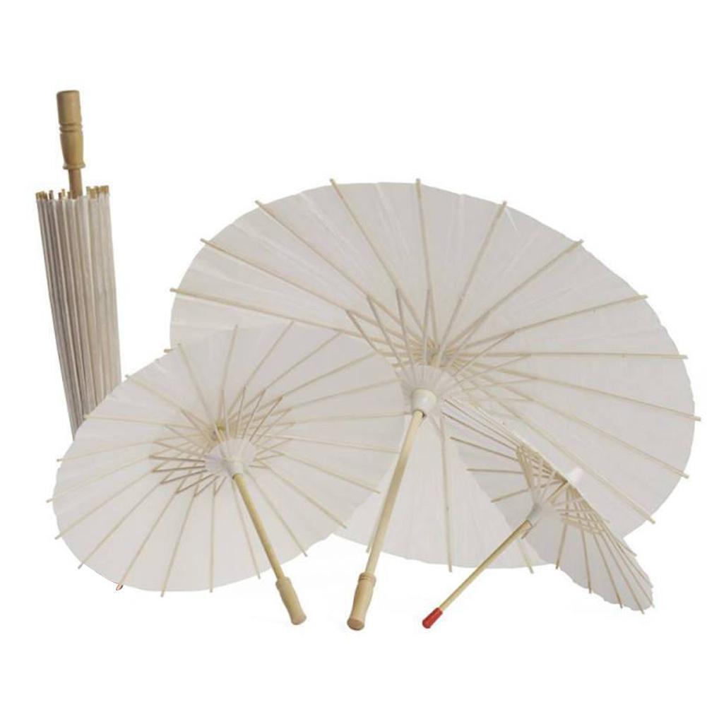 Hot Sale Chinese Vintage DIY Paper Umbrella Wedding/Decors Photo Shoots Parasol Dance Props Oil Paper Umbrella