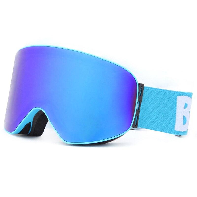 Nouvelles lunettes de Ski HD Double couches UV400 Anti-buée neige Snowboard antichoc Ski masque lunettes hommes femmes extérieur escalade lunettes