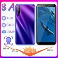 Смартфон 8A, 13 МП, 6,0 дюйма, Android, 4 Гб ОЗУ, 64 Гб ПЗУ, распознавание лица, разблокировка сотовых телефонов