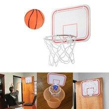 Складывающиеся в помещении портативные подвески, Бесплатный удар, мини-пластиковая баскетбольная рама, баскетбольный набор, мини баскетбо...