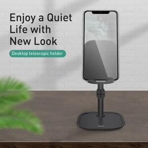 Image 5 - Baseus Telefoon Houder Voor Iphone 11 11 Pro X Xs Xr Android Huawei 360 Graden Roterende Laptop Houder Universele Desktop stand
