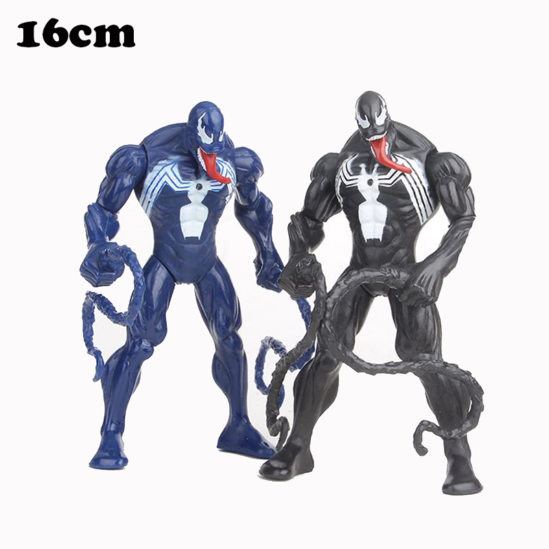 Genuine Original Venom Figures Marvel PVC Action Figure Collectible Model Toys Figurine Doll Kids Gifts 16cm