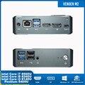 Mini pc intel core i5 8265u i7 8565u i3 8145u pentium 5405u pequeno tipo de computador de mesa-c windows10 linux 2ddr4 m.2 pcie hdmi2.0