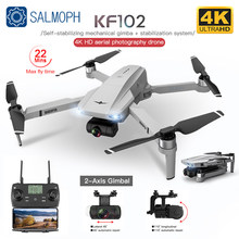 KF102 GPS Drone with WiFi 4K HD Camera 2-Axis Anti-Shake Gimbal Profesional Quadcopter Brushless FPV Mini Dron VS SG906 Pro 2 S3
