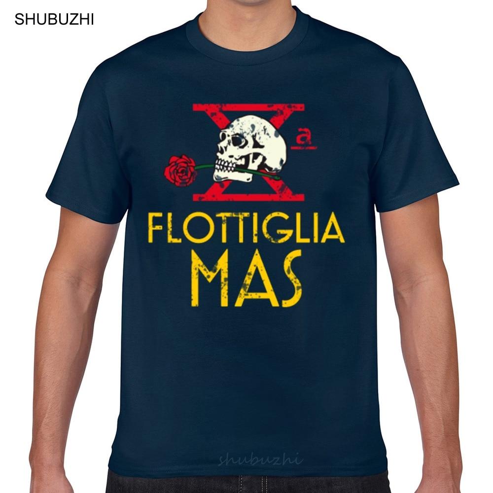 Футболка мужская с рисунком в виде гиков, смешная белая рубашка с итальянским элитным блоком, с рождественским рисунком, decima флоттилия, ww2