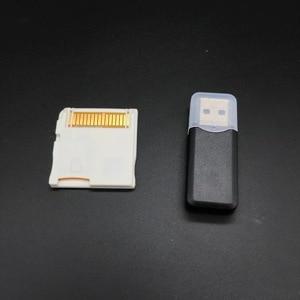 Image 5 - 100 סטים\חבילה עבור R4 זהב Pro SDHC עבור Nintendo DS/3DS/2DS/מהפכה תיבת עם USB מתאם