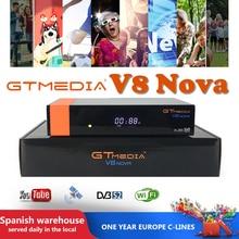 Gt media V8 Nova Satellite Oscam  wiht Cccam Spain WIFI Most-Stable Europe DVB-S2 Newest 7lines freeset v8 Gtmedia