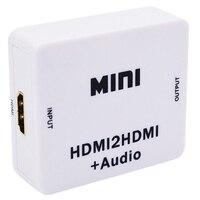 Rozdzielacz Hdmi 1080P Hdmi cyfrowy na analogowy 3.5Mm wyjście Audio Hdmi2Hdmi w Układy scalone wzmacniaczy operacyjnych od Elektronika użytkowa na
