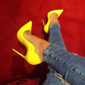 BERZIMER Women Heels Shiny Cus
