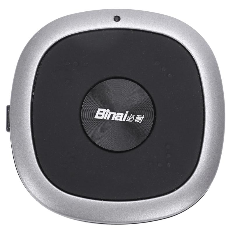 Binai Высокое разрешение беспроводной Bluetooth CSR 5,0 + DSP Hi Fi Стерео шумоподавление линия управления Музыкальная гарнитура энтузиастов в ухо