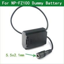 NP FZ100 DC المقرنة الدمية البطارية صالح الطاقة لسوني ألفا 9 A9 ILCE 9 A9R A9S A7III ILCE 7M3 7M3K 7RM3 A7R3 A7RIII A6600