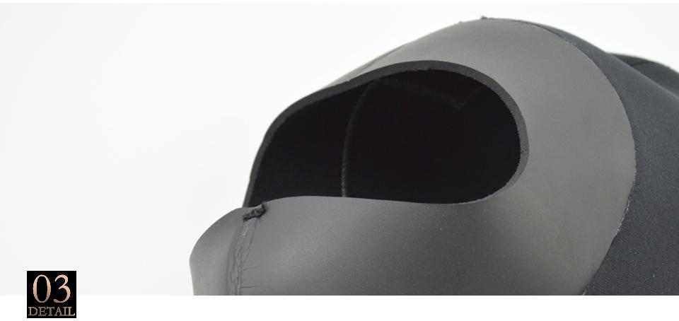 3mm Neopren Tauchen Haube mit Schulter Schnorcheln Männer & Frauen