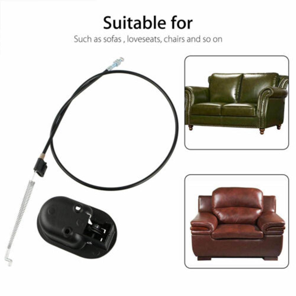New Metal Sofa Recliner Release Handle Pressure Bar Pull Cable Chair Switch Wire NE