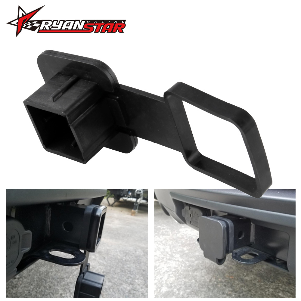 Class III IV 2/'/'Black Trailer Hitch Cover Plug Receiver^Cover CapDust Protecterv