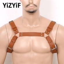 Belt Chest-Harness Shoulder Costume-Strap-Accessory Gothic Body Men Straps-Club Punk