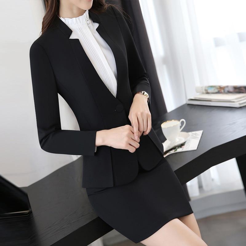 Office Lady Wear Pants Suits Spring Women Suits With Trouser Work Wear Blazer Set Plus Size Women Business Formal Office Suits