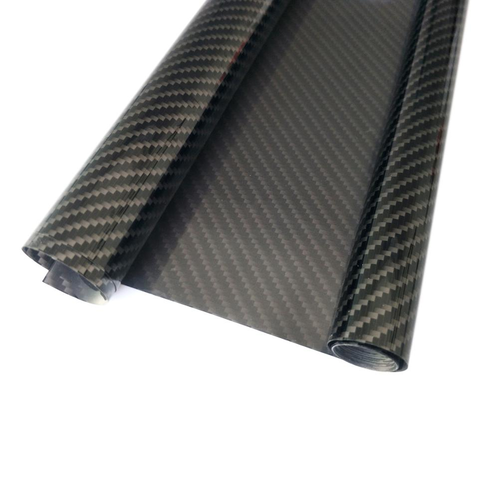 Carbon Fiber Pattern Film Roll Covering Sheet 100*60CM For RC Model Airplane image