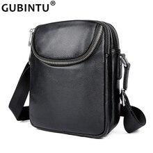 Mens Leather Bag Genuine Messenger Shoulder Bags High Quality Handbag Male Business Briefcase for Travel New