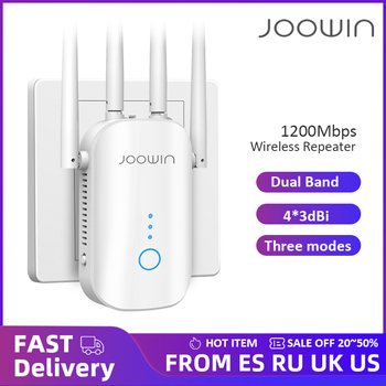300M/1200Mbps 2.4G/5GHz Wireless Extender 802.11ac Wifi Repeater Powerful Wi-Fi Router ​Long Range Wlan WiFi Amplifier 1