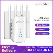 1200Mbps double bande 5Ghz sans fil Wifi répéteur puissant Wifi routeur Wifi Extender 4 * 3dbi antenne longue portée Wlan WiFi amplificateur