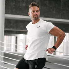 T-Shirt Short-Sleeved Running-Training New Tight Men Quick-Dry Top Compression Elastic
