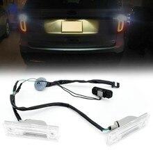 Parte trasera luz de matrícula de coche lámpara W/maletero soltar el interruptor de bloqueo de tapa para portón botón para Chevy Chevrolet Cruze Orlando 95961097