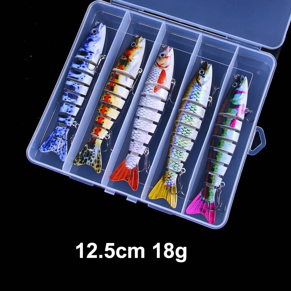 naufrágio wobblers artificial isca kit para bass pike