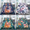 Home Living Luxus 3D Giraffe Drucken 2/3Pcs Komfortable Bettbezug Kissenbezug Bettw��sche-sets K��nigin und K��nig EU/US/AU Gr����e