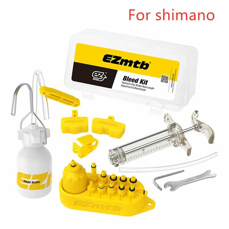 Ezmtb's Hydraulic Brake Bleed kit For Shimano or avid Magura Hayes Hope Formula