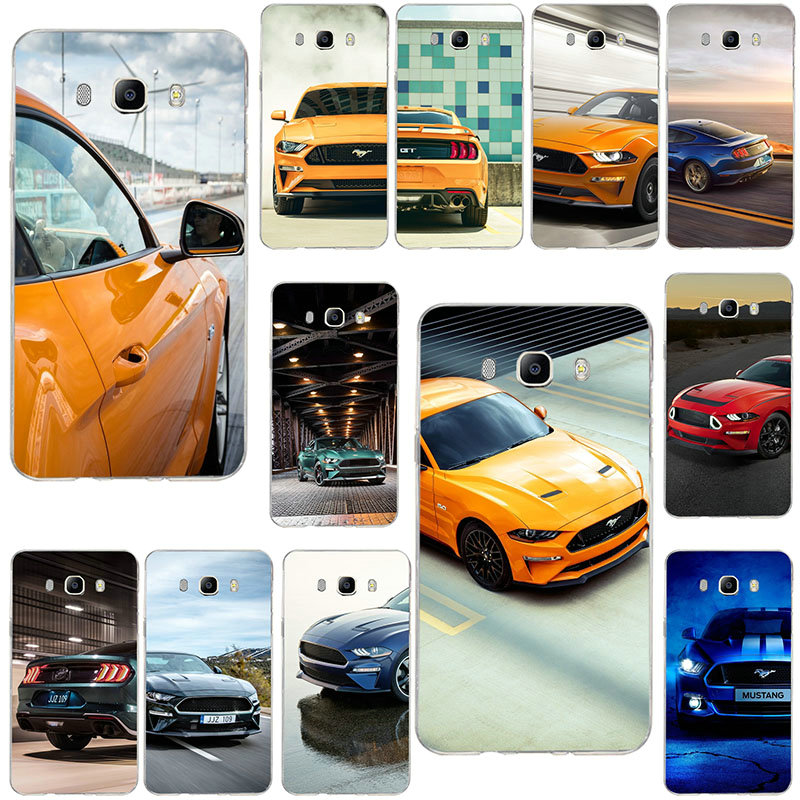 Soft Cases For Samsung Galaxy Note 2 3 4 5 8 9 10 A10 A20 A30 A40 A50 A60 A70 A80 A90 Supercar Mustang Gt Logo image