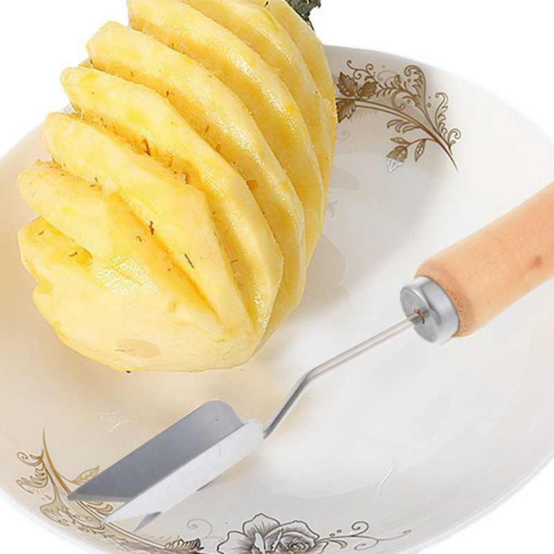 新 1PC クリエイティブパイナップルアナナスカットステンレス鋼パイナップル目の皮むき器種子リムーバーナイフフルーツツール